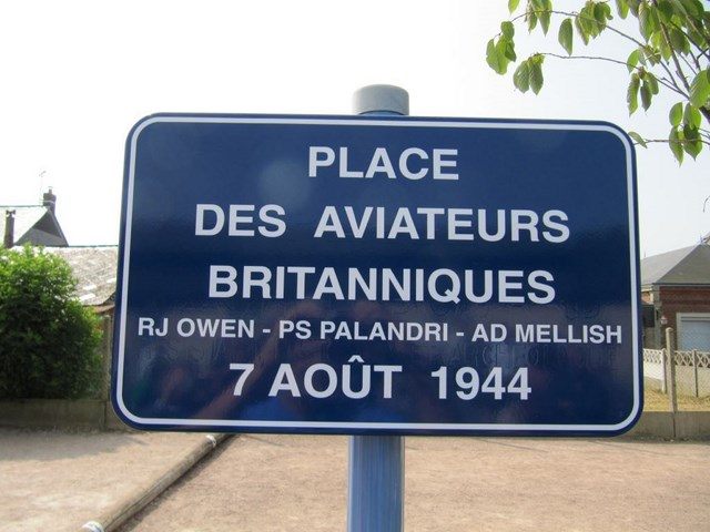 Plaque de place